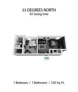 33 DEGREES NORTH 1 X 1 A1