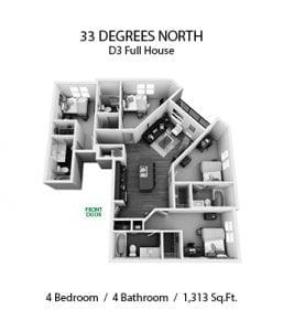 33 DEGREES NORTH 4 X 4 D3