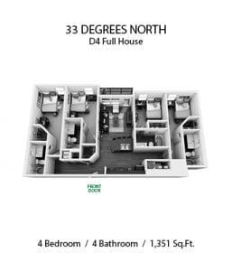 33 DEGREES NORTH 4 X 4 D4