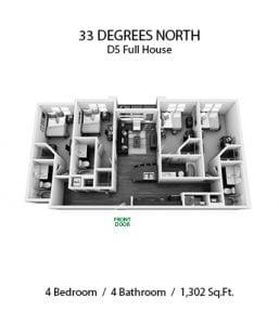33 DEGREES NORTH 4 X 4 D5