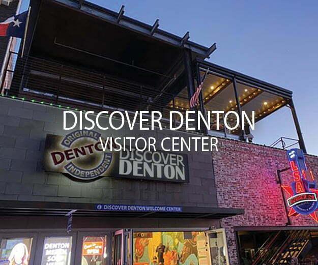 DISCOVER DENTON VISITOR CENTER